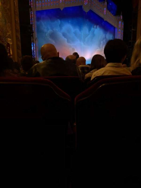 Providence Performing Arts Center, section: Orch L, row: P, seat: 119
