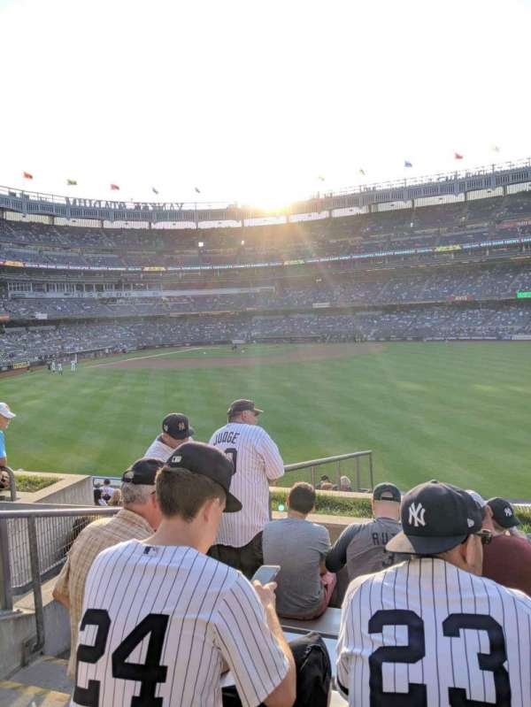 Yankee Stadium, section: 202, row: 6, seat: 23
