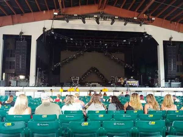 Bank of New Hampshire Pavilion, section: 1B, row: 20, seat: 9