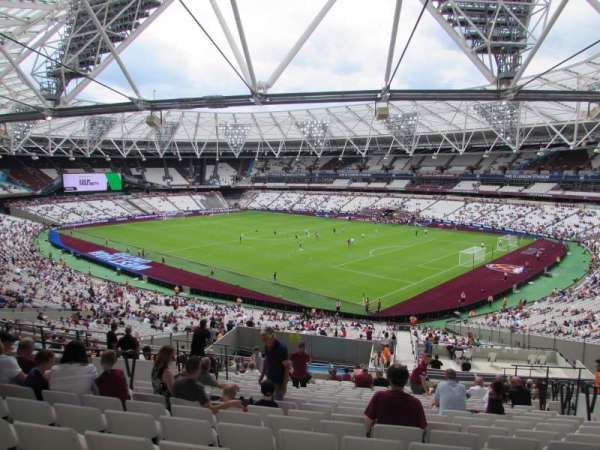 London Stadium, section: 243, row: 50, seat: 277