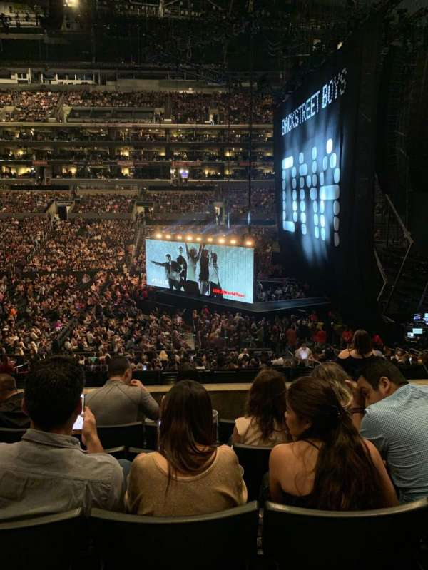 Staples Center, section: PR4, row: 5, seat: 7
