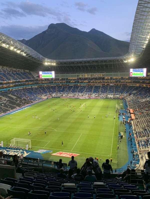 Estadio BBVA, section: 223, row: L, seat: 6