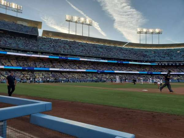 Dodger Stadium, section: 26BL, row: 1, seat: 1