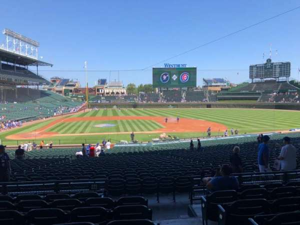 Wrigley Field, section: 222, row: 7, seat: 26