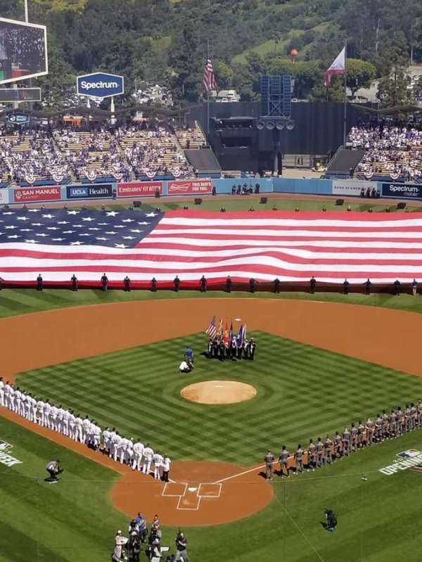 Dodger Stadium, section: 2RS, row: O, seat: 1