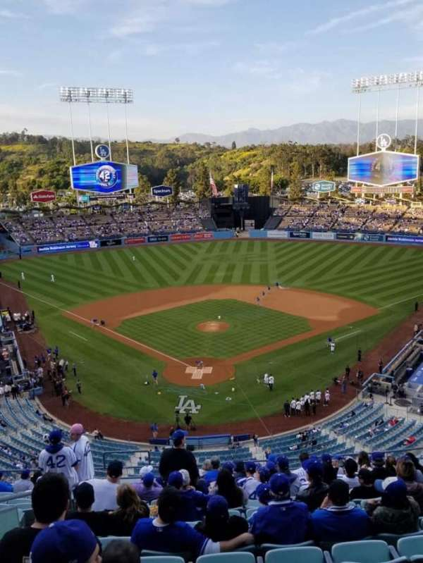 Dodger Stadium, section: 2RS, row: O, seat: 2