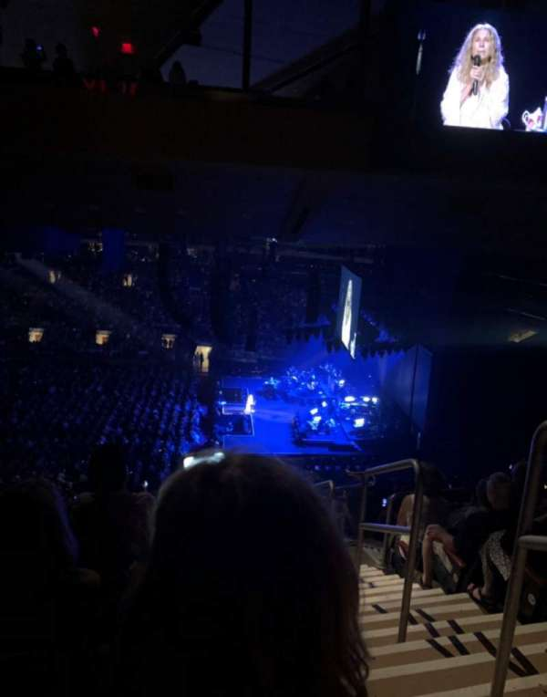 Madison Square Garden, section: 212, row: 17, seat: 19