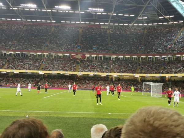 Principality Stadium, section: L27, row: 9, seat: 9