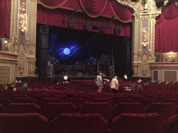 James M. Nederlander Theatre, section: Orchestra L, row: X, seat: 17