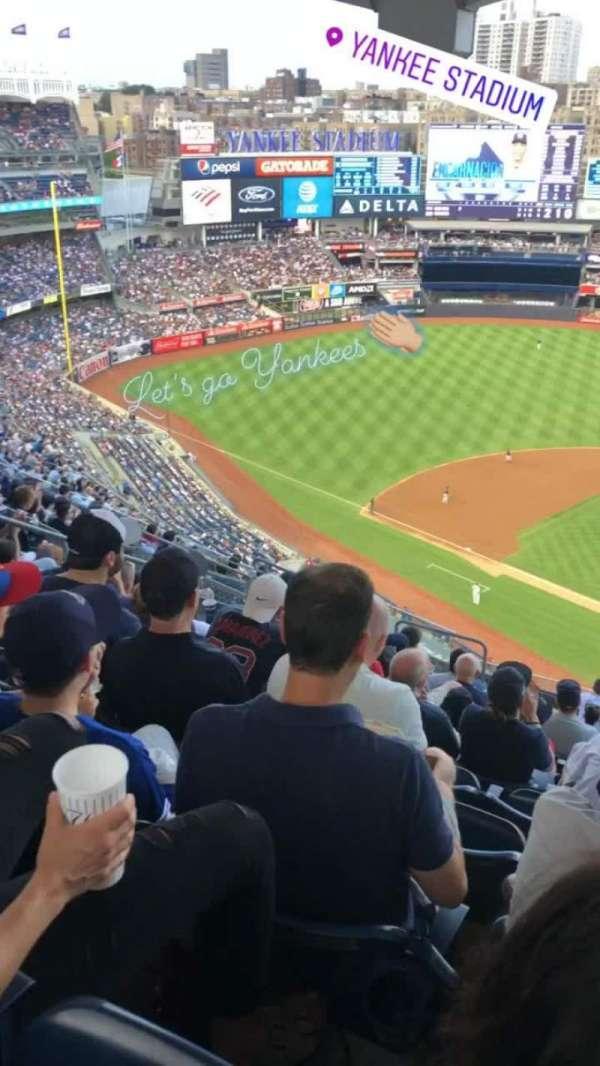 Yankee Stadium, section: 421, row: 13, seat: 19