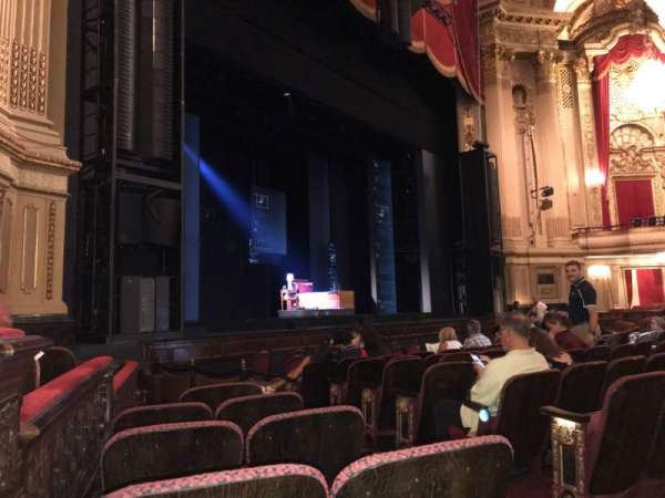 Citizens Bank Opera House, section: LORCLV, row: F, seat: 35