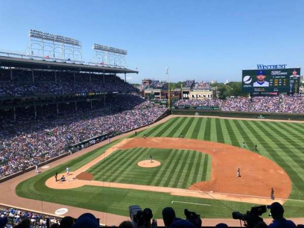 Wrigley Field, section: 324R, row: 7, seat: 17