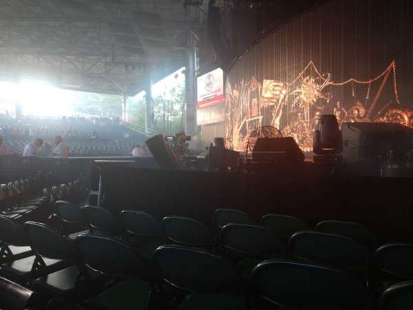 Xfinity Center, section: 1, row: L, seat: 4