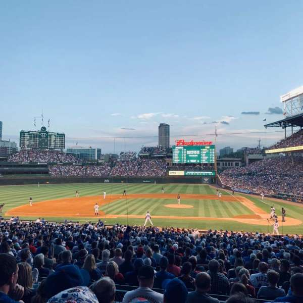 Wrigley Field, section: 213, row: 5, seat: 11