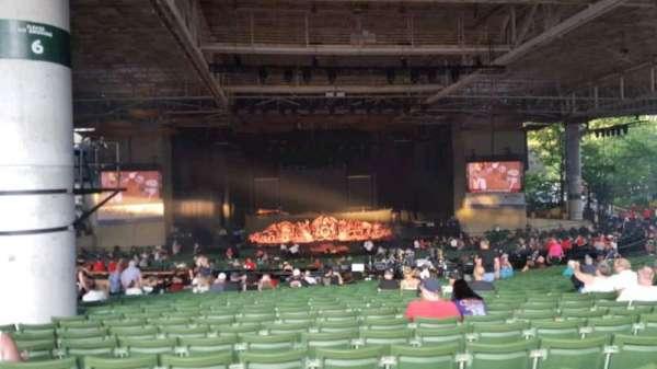 Xfinity Center, section: 6, row: z, seat: 32