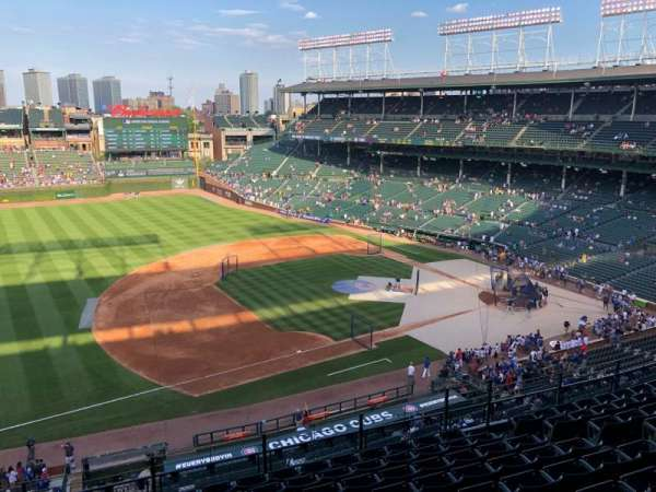 Wrigley Field, section: 308L, row: 10, seat: 2