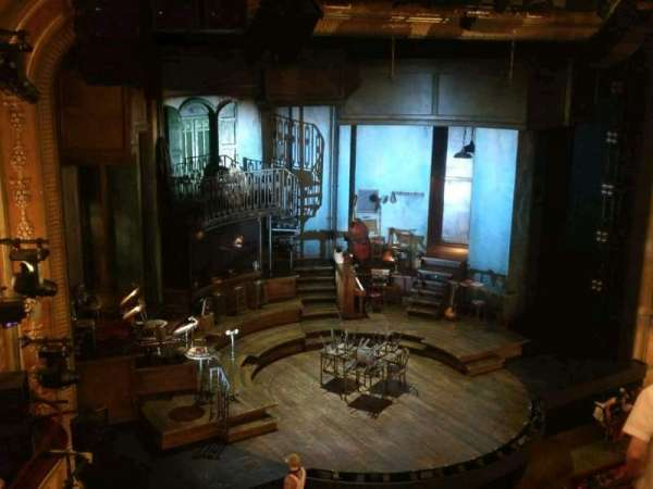 Walter Kerr Theatre, section: Mezzanine L, row: G, seat: 21