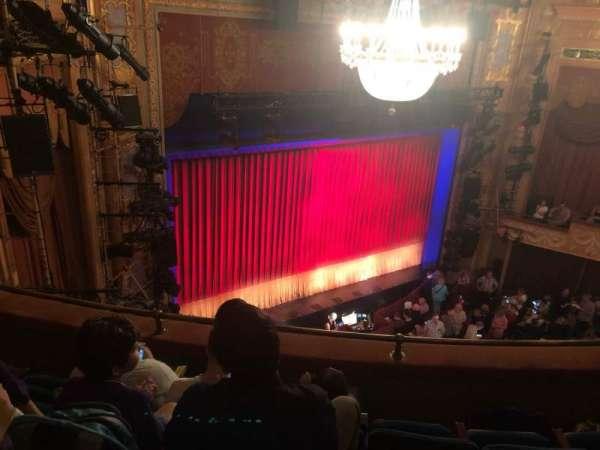 Longacre Theatre, section: Balcony L, row: D