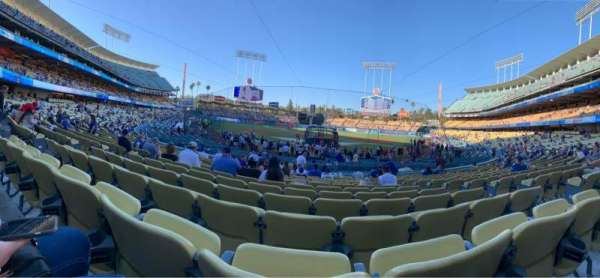 Dodger Stadium, section: 1FD, row: P, seat: 5
