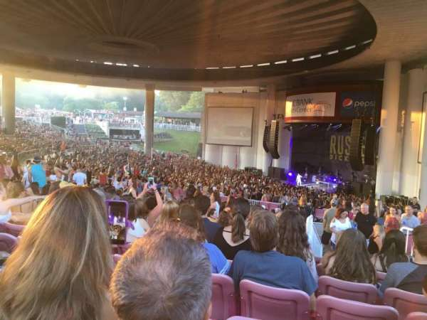 PNC Bank Arts Center, section: 401, row: L, seat: 42