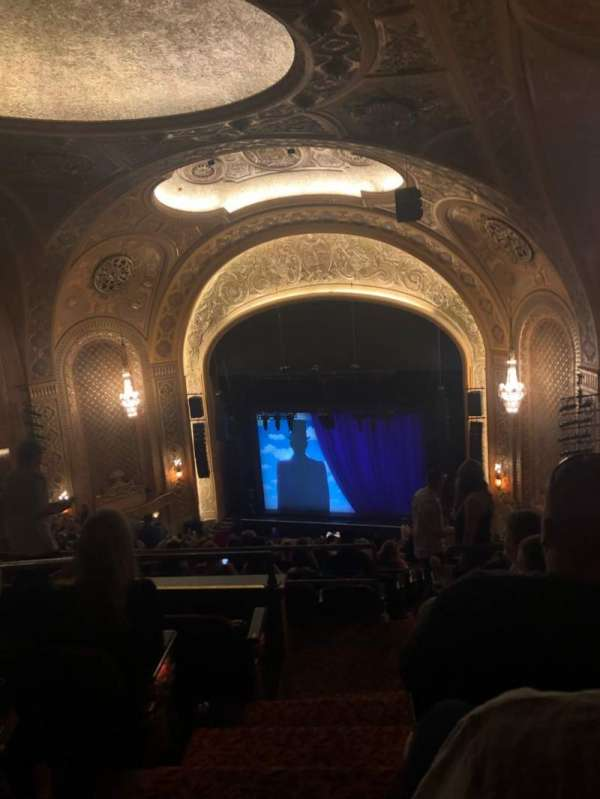 Paramount Theatre (Seattle), section: Mez31, row: W, seat: 1