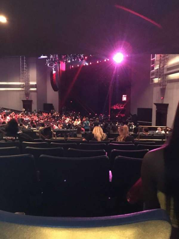 Rosemont Theatre, section: 106, row: GG, seat: 3