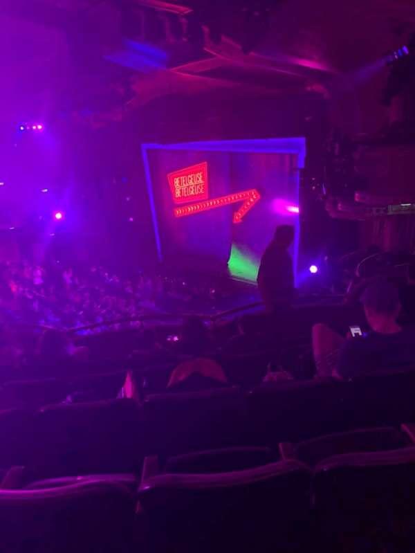 Winter Garden Theatre, section: Mezzanine R, row: F, seat: 36