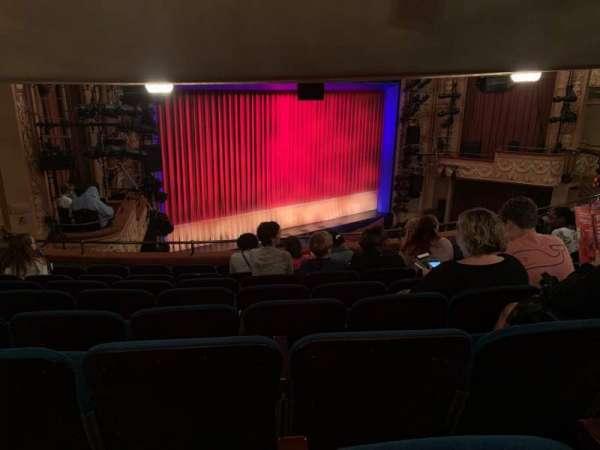 Longacre Theatre, section: Mezzanine L, row: H, seat: 24