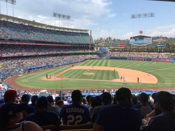 Dodger Stadium, section: 130LG, row: R, seat: 6