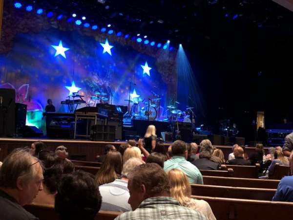 Ryman Auditorium, section: MF-7, row: M, seat: 4-5