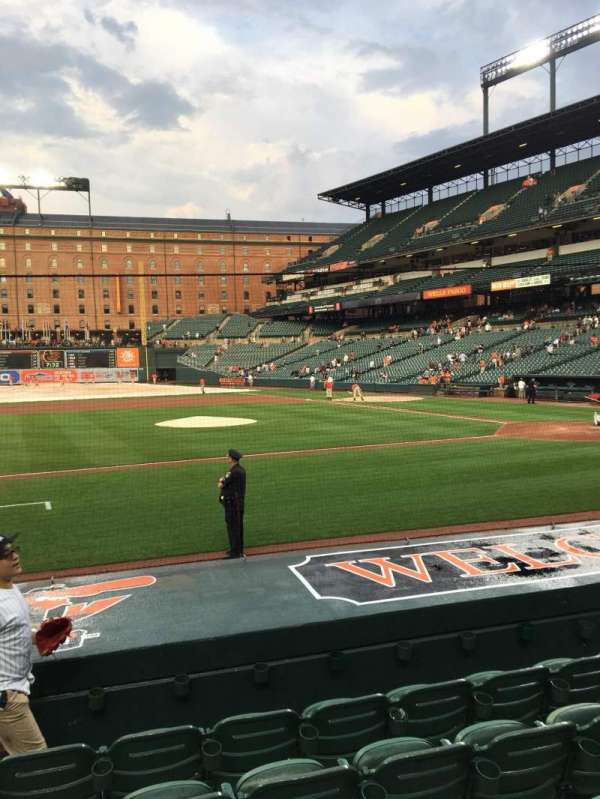 Oriole Park at Camden Yards, section: 52, row: 6, seat: 10