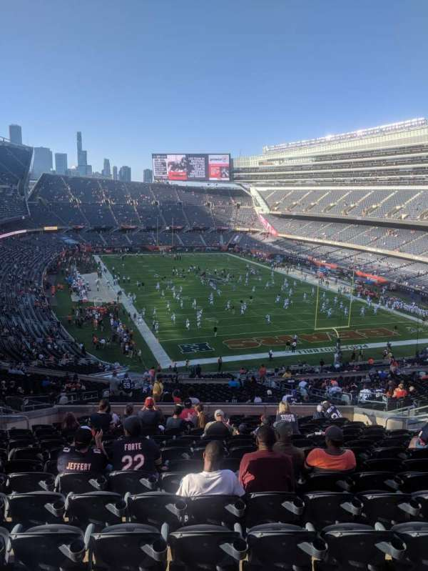 Soldier Field, section: 325, row: 16, seat: 5