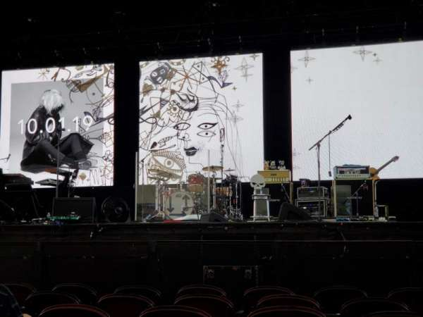 Rockland Trust Bank Pavilion, section: 2, row: G, seat: 10