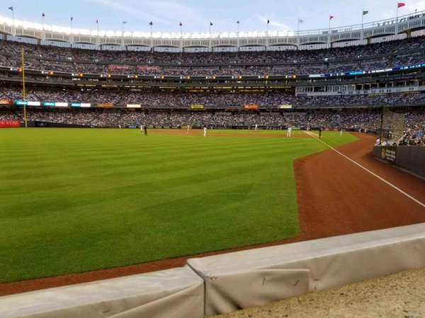 Yankee Stadium, section: 132, row: 1, seat: 14