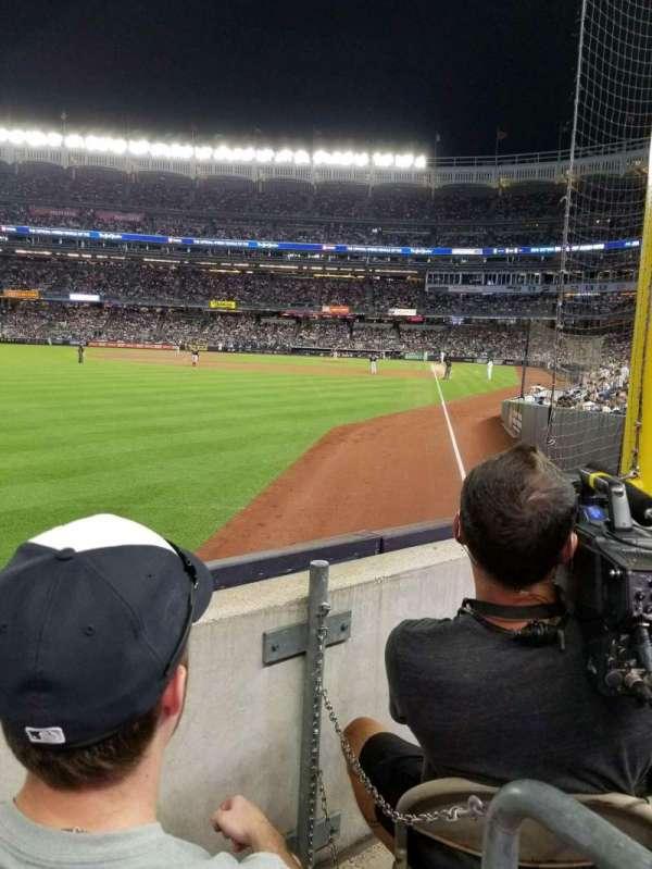 Yankee Stadium, section: 132, row: 2, seat: 7