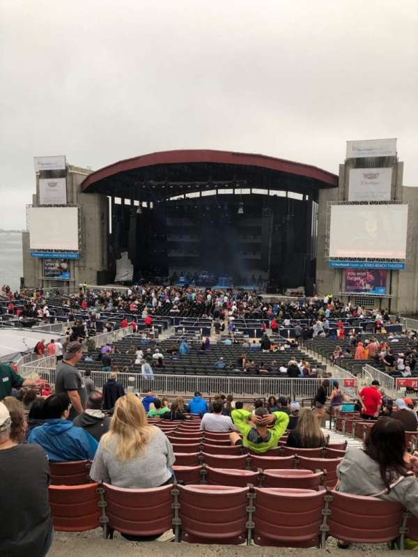 Jones Beach Theater, section: 6R, row: AA