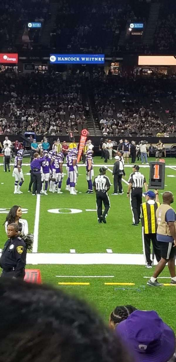 Mercedes-Benz Superdome, section: 112, row: 8, seat: 10