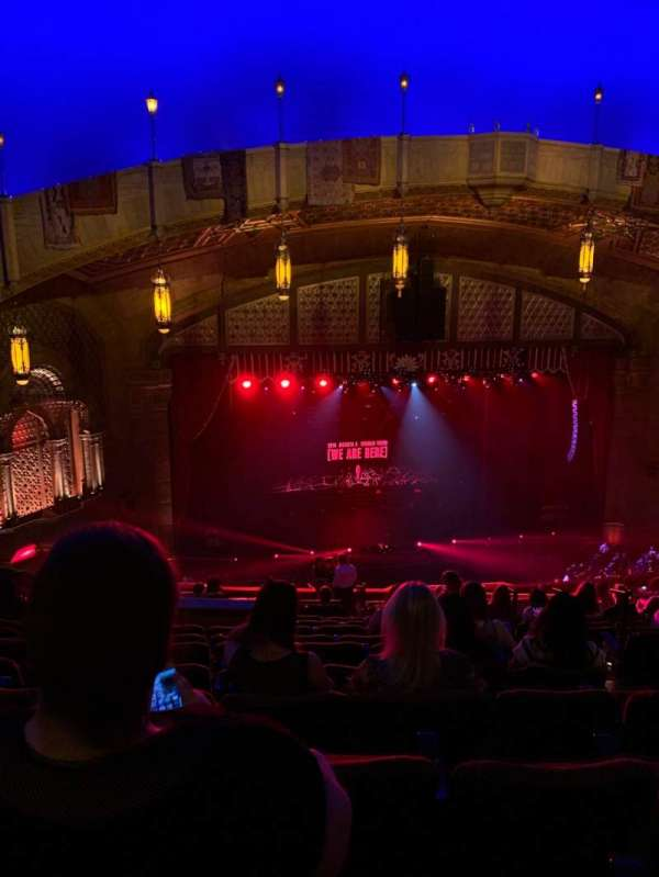 Fox Theatre (Atlanta), section: Dress Circle Left B, row: L, seat: 9