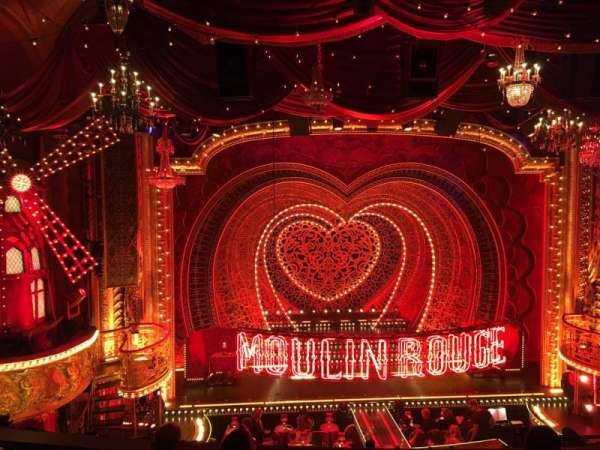 Al Hirschfeld Theatre, section: Mezzanine C, row: E, seat: 115