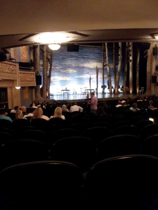 Gerald Schoenfeld Theatre, section: orchestra l, row: R, seat: 15