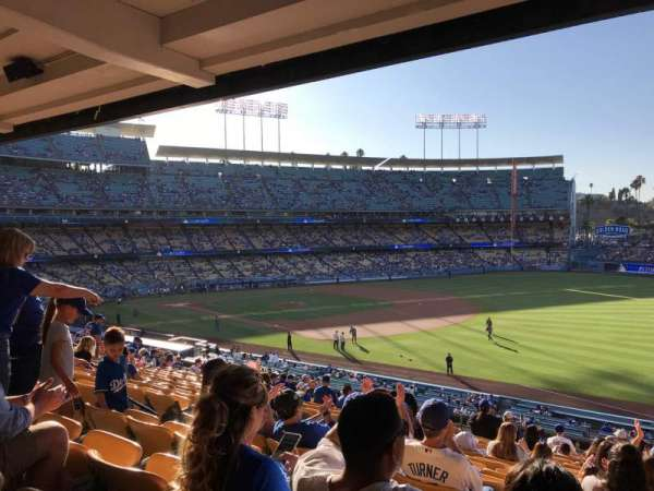 Dodger Stadium, section: 154LG, row: R, seat: 8