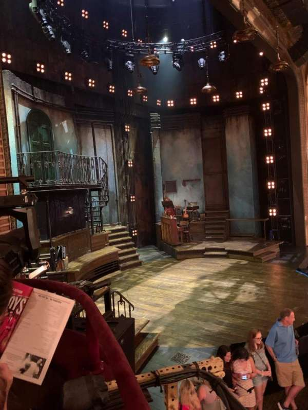 Walter Kerr Theatre, section: Box B, row: 1, seat: 3