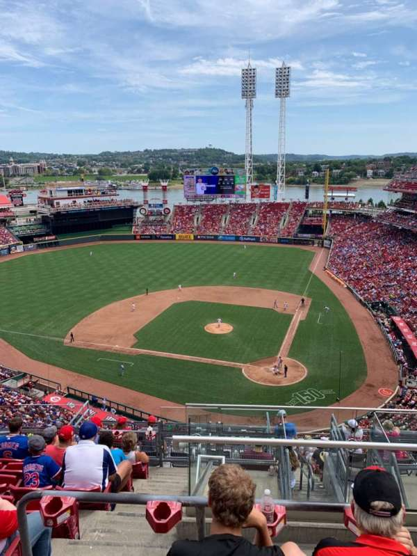 Great American Ball Park, section: 520, row: H, seat: 2