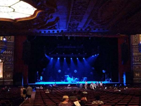 The Fabulous Fox Theatre (St. Louis), section: Orchestra 3, row: HH, seat: 127