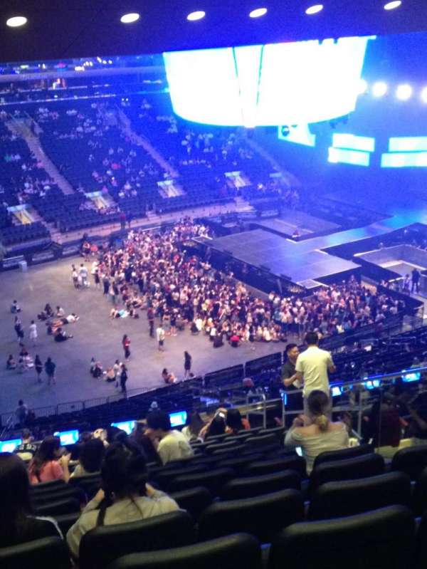 Madison Square Garden, section: 208, row: 16, seat: 18