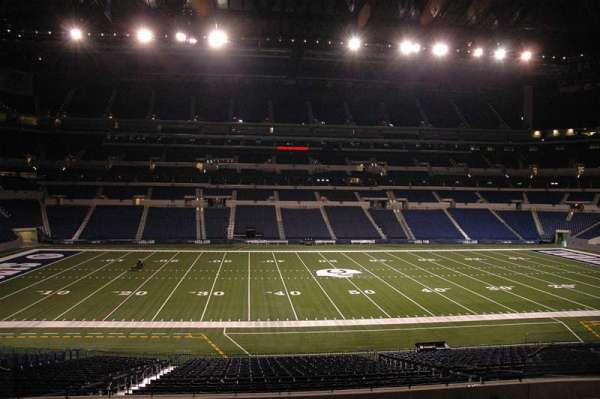 Lucas Oil Stadium, section: 210, row: 3, seat: 7