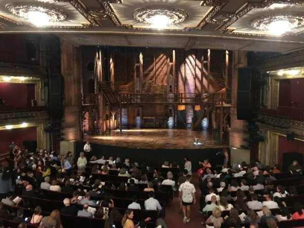 CIBC Theatre, section: Dress Circle RC, row: A, seat: 222