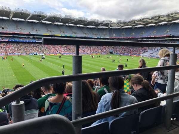 Croke Park, section: 333, row: LL, seat: 14