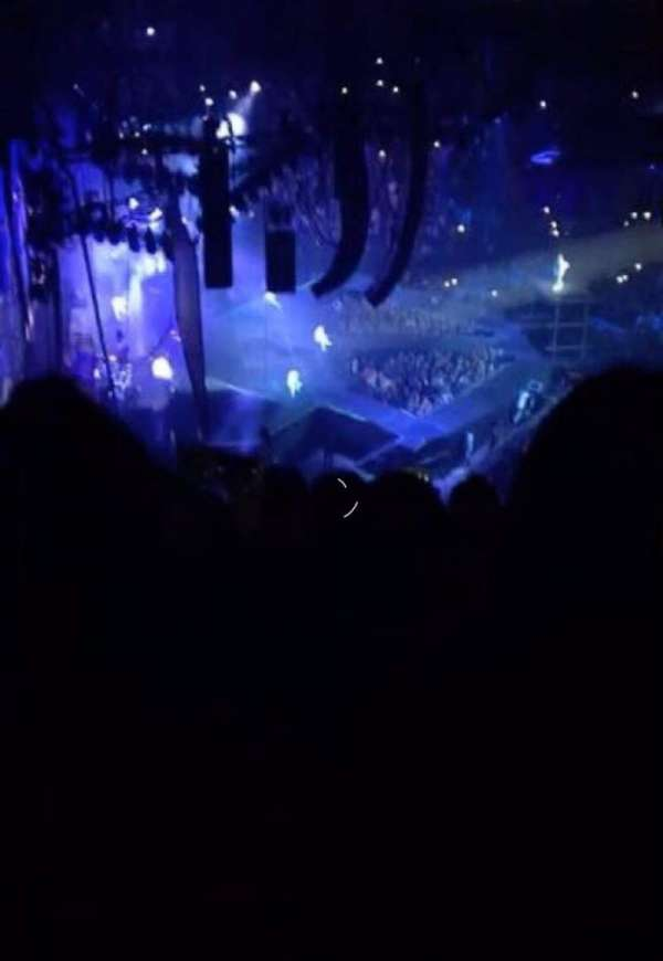 The O2 Arena, section: 401, row: F, seat: 457