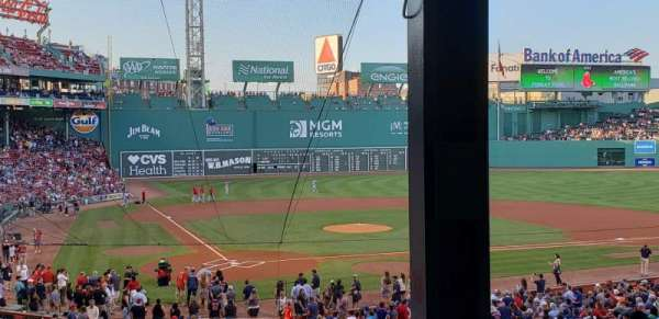 Fenway Park , section: Grandstand 18, row: 10, seat: 11